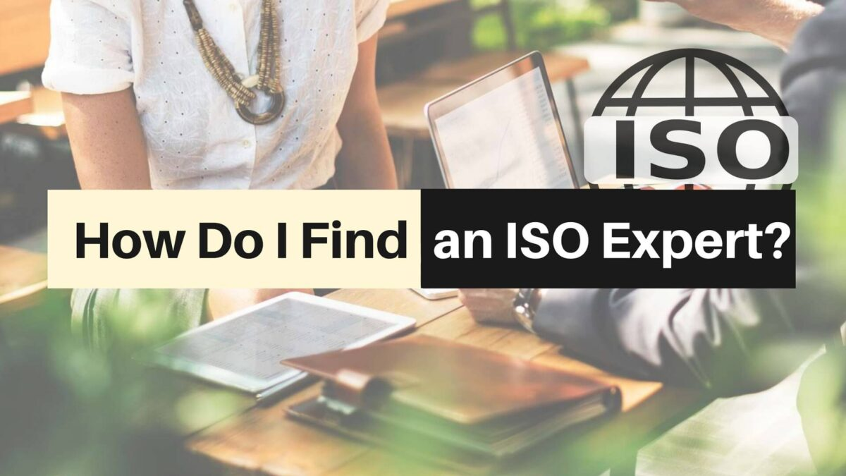How Do I Find an ISO Expert